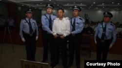 济南中级法院宣判薄熙来案现场(2013年9月22日,济南中级法院微博图片)
