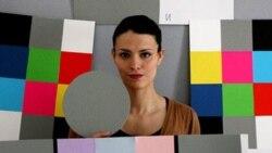 دختر چینی - یکی از آثار آناهیتا رمزی- اهدایی هنرمند