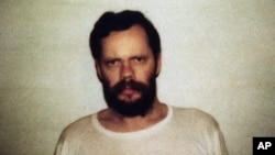 This picture of Terry A. Anderson was released along with a statement by his captors, the Islamic Jihad, in Beirut, Lebanon on Oct. 21, 1988 .
