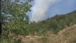 Zjarret në Dragash të Kosovës