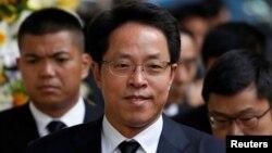 資料照:中國國務院港澳辦主任張曉明。