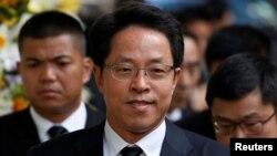 Ông Zhang Xiaoming, một trong những quan chức cấp cao nhất của Trung Quốc giám sát các vấn đề Hồng Kông.