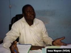 Le maire-adjoint de Fada, Fadel Thiombiano au Burkina Faso, le 20 décembre 2018. (VOA/Issa Napon)