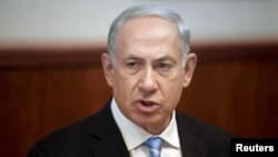 FILE - Israeli Prime Minister Benjamin Netanyahu
