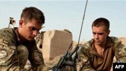 Binh sĩ Anh tại Afghanistan