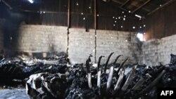 Обнаруженные в Триполи останки жертв