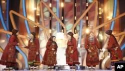 Nhóm các cụ bà của làng Buranovo thắng trong cuộc thi hát ở Mascova để đại diện nước Nga đi tranh giải 'Eurovision' '
