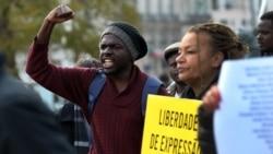 """Manifestações em Angola e no exterior marcam aniversário da prisão dos """"revús"""" - 3:00"""