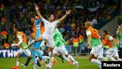 Alžirski fudbalski tim na Mundijalu u Brazilu