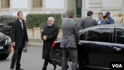 محمد جواد ظریف وزیر امور خارجه جمهوری اسلامی