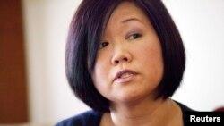 북한에 억류된 한국계 미국인 케네스 배 씨의 여동생 테리 정 씨. (자료사진)