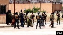 Abasirikare ba SDF bafata abarwanyi ba ISIS