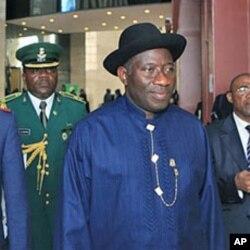 Shugaban kasar Najeriya Goodluck Jonathan