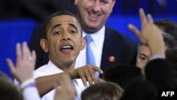 Obama Başkanlık Yarışında Önde