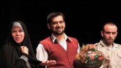 فائزه هاشمی پس از تماشای «تماشاچی محکوم به اعدام گروه سازندگان آن را تشویق کرد