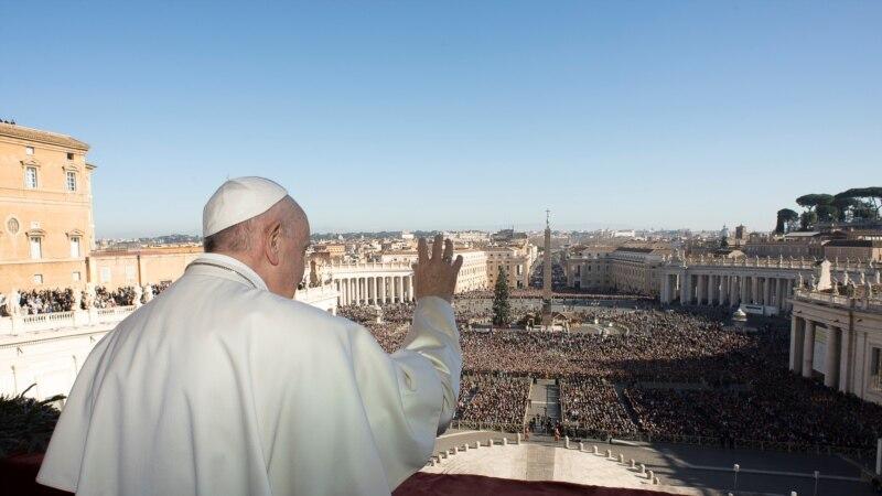 Le pape François reçoit le président Tshisekedi