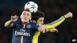 Paris St. Germain no pudo doblegar al Chelsea de José Mourinho, al empatar 1-1 en la ida de los octavos de final de la Liga de Campeones.