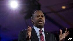 Carson anunció que su próximo paso será liderar un grupo enfocado en lograr que los cristianos salgan a votar en noviembre.
