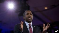 미국 공화당 경선 후보였던 벤 카슨 (자료 사진)
