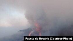 Vulcão do Fogo (Foto de Fausto do Rosário)
