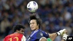 Gol kemenangan Jepang atas Oman dicetak Roichi Made dan Shinji Kagawa (3/6).