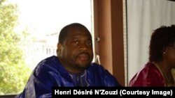 Henri Désiré N'Zouzi, consultant en relations internationales d'origine congolaise vivant à Bruxelles