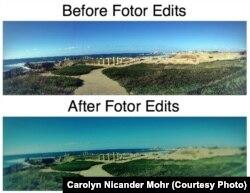 Fotor App Edit Panorama