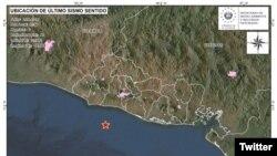 El sismo de magnitud 5.9 golpeó a 24 kilómetros al sur de La Libertad, a las 23:54 hora local del martes (0554 GMT), dijo el Servicio Geológico de EstadosUnidos.