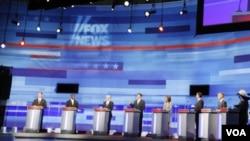 El próximo 7 de septiembre se celebrará el próximo debate entre los candidatos presidenciales del Partido Republicano.
