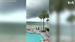 Multiple Waterspouts Rise Near Florida Beach