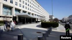 Zgrada Stejt departmenta u Vašingtonu (Foto: Reuters/Joshua Roberts)