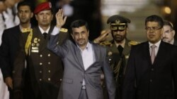 محمود احمدی نژاد وارد ونزوئلا شد