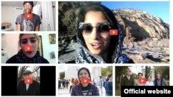 미 서부 캘리포니아에 본부를 둔 대북 인권단체 링크(Link)의 '북한에 메세지 보내기' 프로젝트 참가자들의 영상 모음. (자료사진)