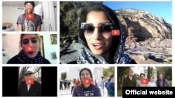 미 서부 캘리포니아에 본부를 둔 대북 인권단체 링크(Link)의 '북한에 메세지 보내기' 프로젝트 참가자들의 영상 모음.