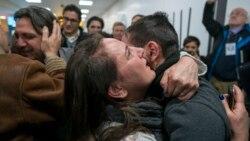 ဆီးရီးယား သားအမိအတြက္ Trump ျပည္ဝင္ခြင့္ကန္႔သတ္ခ်က္ ဆိုင္းငံ့ခံရ
