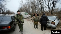 Проросійські сепаратисти на сході України
