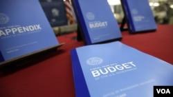 Rancangan APBN 2012 yang diusulkan Presiden Obama kepada Kongres AS.
