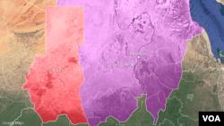 Ikarata y'ahaherereye intara ya Darfur