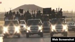 داعش شهر مرزی رقه در سوریه را پایتخت خلافت اسلامی خود خواندۀ خویش می پندارند.