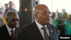 Le président sud-africain Jacob Zuma, le 6 août 2017. REUTERS/Rogan