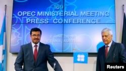 Los ministros de Petróleo de la OPEP se reunieron en Viena, Austria, el jueves, 2 de junio de 2016.