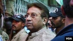 ອະດີດປະທານາທິບໍດີ Perez Musharraf ຖຶກສານສັ່ງກັກຂັງໂຕໄວ້ ເພື່ອລໍຖ້າການດໍາເນີນຄະດີ