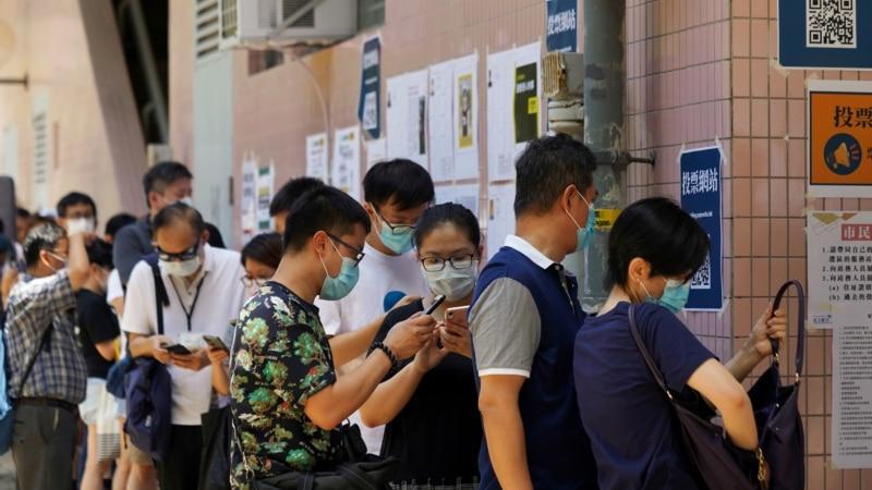 香港民主派立法会初选逾60万人投票 学者指香港人创奇迹