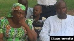 Iyayen Maida Yakubu yarinyar da tayi magana a faifan bidiyon da wani bangaren Boko Haram ya fitar
