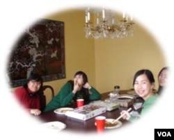 At Chinese Thanksgiving