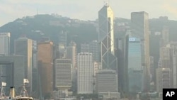 Air pollution, as seen here in Hong Kong, can increase the risk of heart disease.