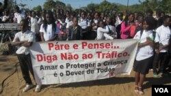 Campanha contra tráfico humano em Moçambique