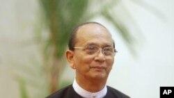 ປະທານາທິບໍດີ Thein Sein ແຫ່ງມຽນມາ.