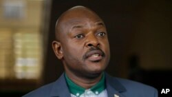 Le président burundais Pierre Nkurunziza,
