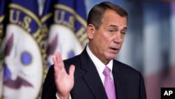El presidente de la Cámara de Representantes, John Boehner desea presentar los principios republicanos antes del 28 de enero.